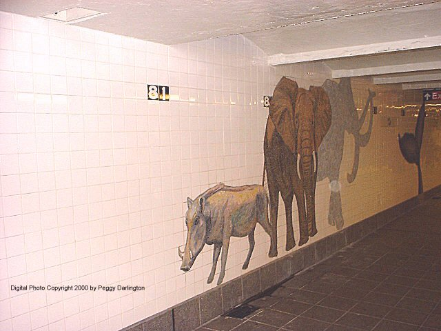 (65k, 640x480)<br><b>Country:</b> United States<br><b>City:</b> New York<br><b>System:</b> New York City Transit<br><b>Line:</b> IND 8th Avenue Line<br><b>Location:</b> 81st Street/Museum of Natural History<br><b>Photo by:</b> Peggy Darlington<br><b>Date:</b> 2000<br><b>Artwork:</b> <i>For Want of a Nail</i>, MTA Arts For Transit Collaborative, 1999<br><b>Viewed (this week/total):</b> 0 / 10310