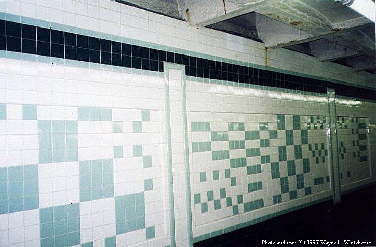 (76k, 738x485)<br><b>Country:</b> United States<br><b>City:</b> New York<br><b>System:</b> New York City Transit<br><b>Line:</b> IND Crosstown Line<br><b>Location:</b> Bergen Street<br><b>Photo by:</b> Wayne Whitehorne<br><b>Date:</b> 12/26/1997<br><b>Notes:</b> Bergen Street new wall tile<br><b>Viewed (this week/total):</b> 3 / 6124