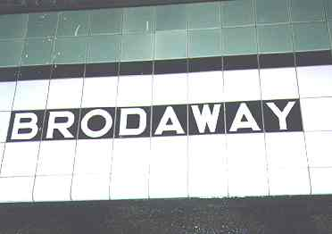 (6k, 372x262)<br><b>Country:</b> United States<br><b>City:</b> New York<br><b>System:</b> New York City Transit<br><b>Line:</b> IND Crosstown Line<br><b>Location:</b> Broadway<br><b>Photo by:</b> Kevin Walsh<br><b>Notes:</b> Broadway station name tablet with misspelling<br><b>Viewed (this week/total):</b> 0 / 4714