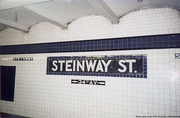 (72k, 748x493)<br><b>Country:</b> United States<br><b>City:</b> New York<br><b>System:</b> New York City Transit<br><b>Line:</b> IND Queens Boulevard Line<br><b>Location:</b> Steinway Street<br><b>Photo by:</b> Wayne Whitehorne<br><b>Date:</b> 1/3/1998<br><b>Viewed (this week/total):</b> 2 / 4011