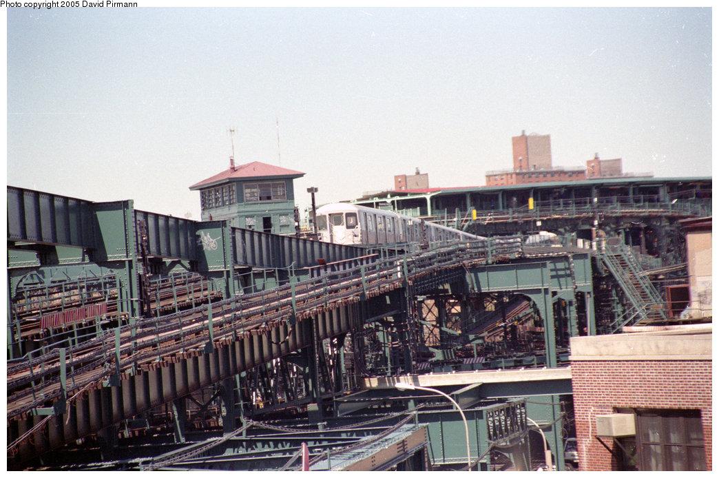 (246k, 1044x694)<br><b>Country:</b> United States<br><b>City:</b> New York<br><b>System:</b> New York City Transit<br><b>Line:</b> BMT Nassau Street-Jamaica Line<br><b>Location:</b> Alabama Avenue<br><b>Route:</b> J<br><b>Photo by:</b> David Pirmann<br><b>Date:</b> 4/26/1997<br><b>Notes:</b> View of Broadway Junction from Alabama Avenue<br><b>Viewed (this week/total):</b> 3 / 5300
