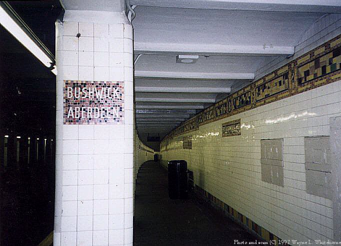(67k, 682x492)<br><b>Country:</b> United States<br><b>City:</b> New York<br><b>System:</b> New York City Transit<br><b>Line:</b> BMT Canarsie Line<br><b>Location:</b> Bushwick-Aberdeen<br><b>Route:</b> L<br><b>Photo by:</b> Wayne Whitehorne<br><b>Date:</b> 8/23/1997<br><b>Viewed (this week/total):</b> 1 / 5726
