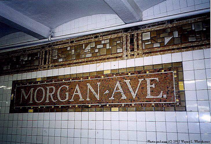 (102k, 729x496)<br><b>Country:</b> United States<br><b>City:</b> New York<br><b>System:</b> New York City Transit<br><b>Line:</b> BMT Canarsie Line<br><b>Location:</b> Morgan Avenue<br><b>Route:</b> L<br><b>Photo by:</b> Wayne Whitehorne<br><b>Date:</b> 9/28/1997<br><b>Viewed (this week/total):</b> 1 / 3299