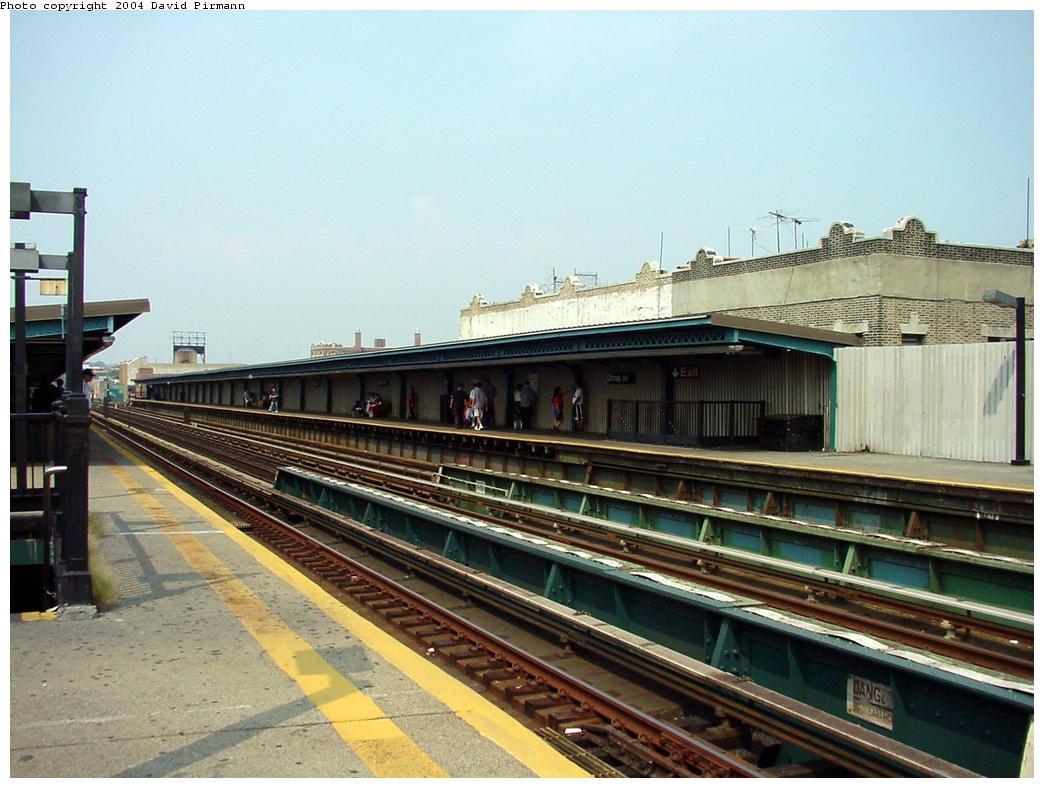 (128k, 1044x788)<br><b>Country:</b> United States<br><b>City:</b> New York<br><b>System:</b> New York City Transit<br><b>Line:</b> BMT Culver Line<br><b>Location:</b> Ditmas Avenue<br><b>Route:</b> F<br><b>Photo by:</b> David Pirmann<br><b>Date:</b> 8/27/2000<br><b>Notes:</b> View of station from southbound platform<br><b>Viewed (this week/total):</b> 0 / 2790