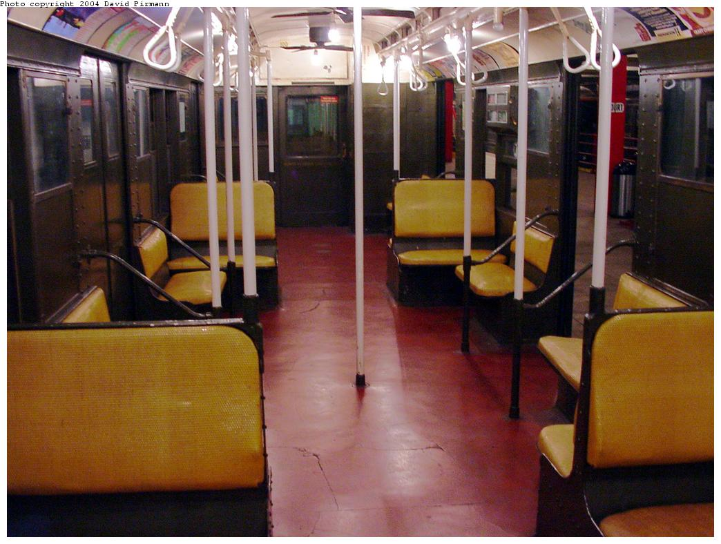 (128k, 1044x788)<br><b>Country:</b> United States<br><b>City:</b> New York<br><b>System:</b> New York City Transit<br><b>Location:</b> New York Transit Museum<br><b>Car:</b> R-1 (American Car & Foundry, 1930-1931) 100 <br><b>Photo by:</b> David Pirmann<br><b>Date:</b> 3/12/2000<br><b>Viewed (this week/total):</b> 10 / 22040