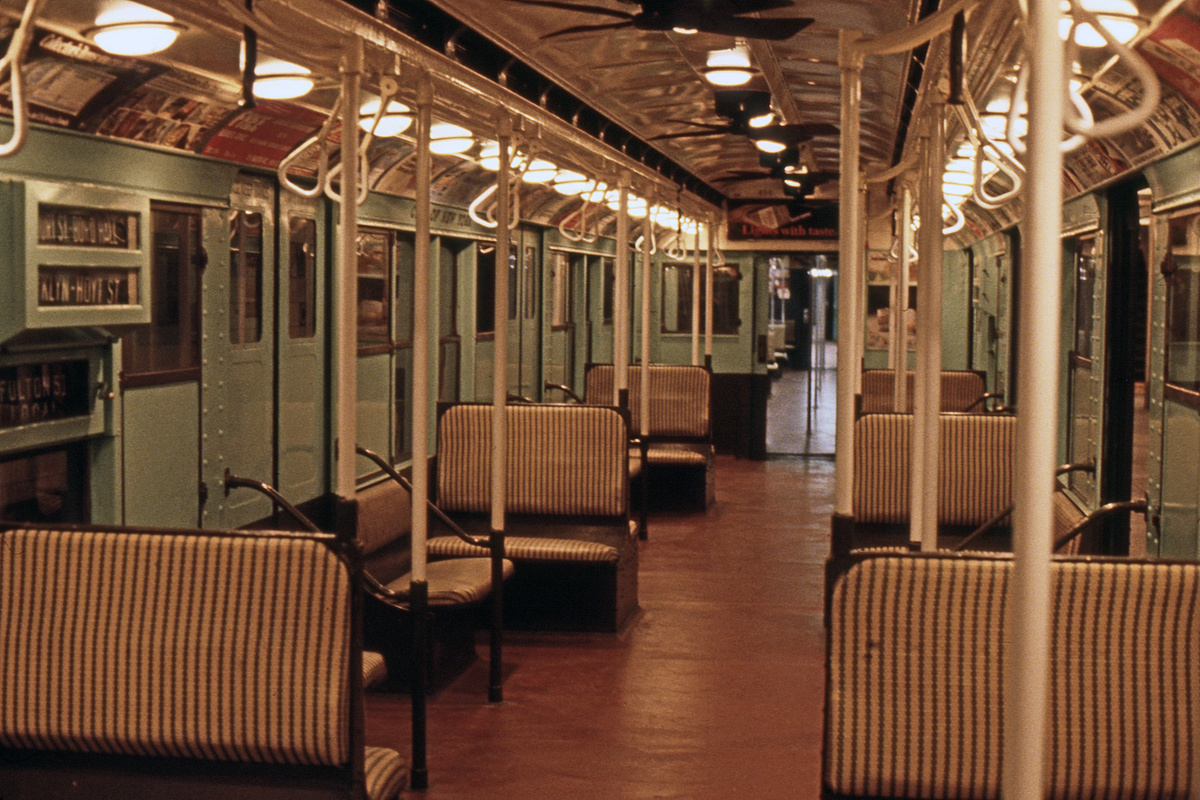 (535k, 1200x800)<br><b>Country:</b> United States<br><b>City:</b> New York<br><b>System:</b> New York City Transit<br><b>Location:</b> New York Transit Museum<br><b>Car:</b> R-4 (American Car & Foundry, 1932-1933) 484 <br><b>Photo by:</b> Steve Hoskins<br><b>Collection of:</b> David Pirmann<br><b>Date:</b> 8/1979<br><b>Viewed (this week/total):</b> 0 / 18361