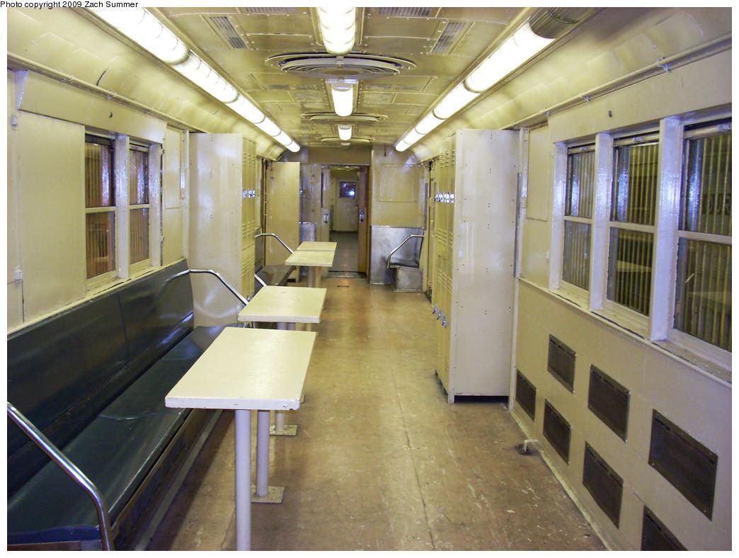 (273k, 1044x788)<br><b>Country:</b> United States<br><b>City:</b> New York<br><b>System:</b> New York City Transit<br><b>Location:</b> New York Transit Museum<br><b>Car:</b> R-95 Locker Car (Revenue Train) 1R714 (ex-7422)<br><b>Photo by:</b> Zach Summer<br><b>Date:</b> 7/22/2008<br><b>Viewed (this week/total):</b> 6 / 4158