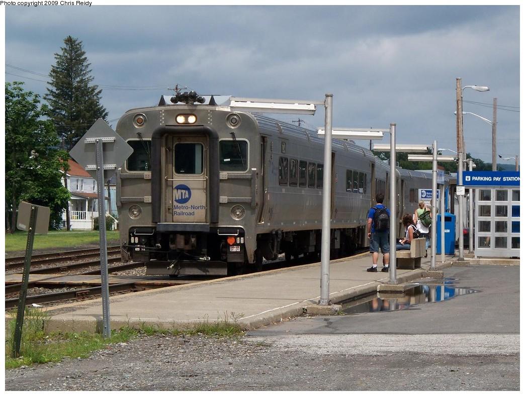 (249k, 1044x788)<br><b>Country:</b> United States<br><b>System:</b> NJ Transit (or Predecessor)<br><b>Line:</b> NJT Main/Bergen Line<br><b>Location:</b> Port Jervis<br><b>Car:</b> MNRR Comet V 6704 <br><b>Photo by:</b> Chris Reidy<br><b>Date:</b> 7/22/2009<br><b>Viewed (this week/total):</b> 0 / 1138