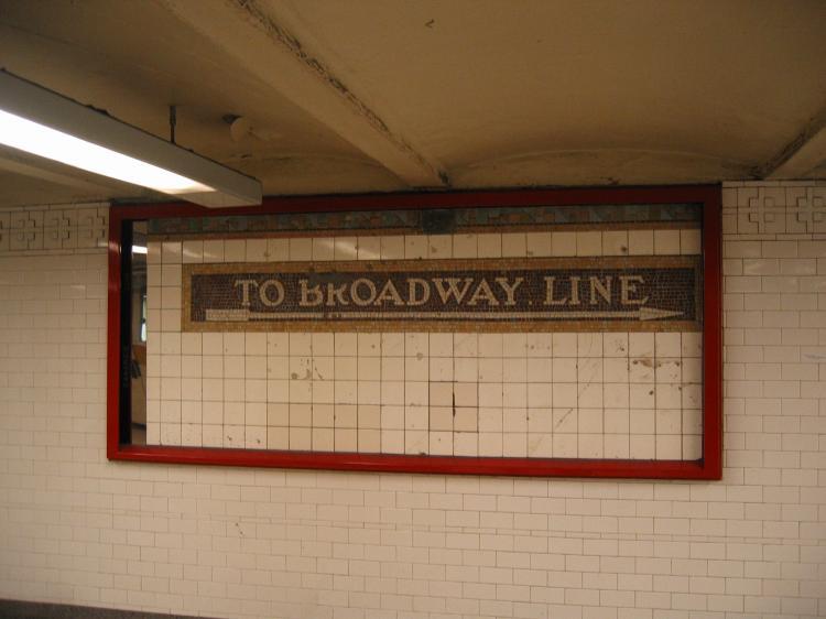 (46k, 750x562)<br><b>Country:</b> United States<br><b>City:</b> New York<br><b>System:</b> New York City Transit<br><b>Line:</b> IRT East Side Line<br><b>Location:</b> 14th Street/Union Square<br><b>Photo by:</b> Robbie Rosenfeld<br><b>Date:</b> 3/9/2005<br><b>Artwork:</b> <i>Framing Union Square</i>, Mary Miss, 1998<br><b>Viewed (this week/total):</b> 2 / 2364