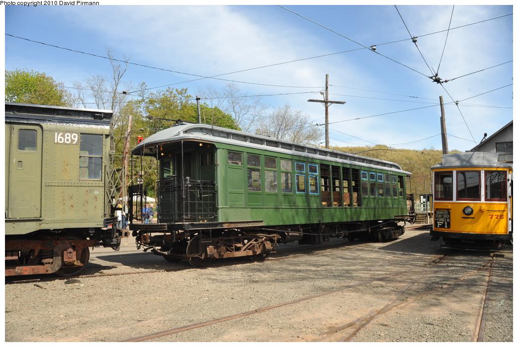 (302k, 1044x701)<br><b>Country:</b> United States<br><b>City:</b> East Haven/Branford, Ct.<br><b>System:</b> Shore Line Trolley Museum<br><b>Car:</b> BMT Elevated Gate Car 1349 <br><b>Photo by:</b> David Pirmann<br><b>Date:</b> 4/24/2010<br><b>Viewed (this week/total):</b> 10 / 2729
