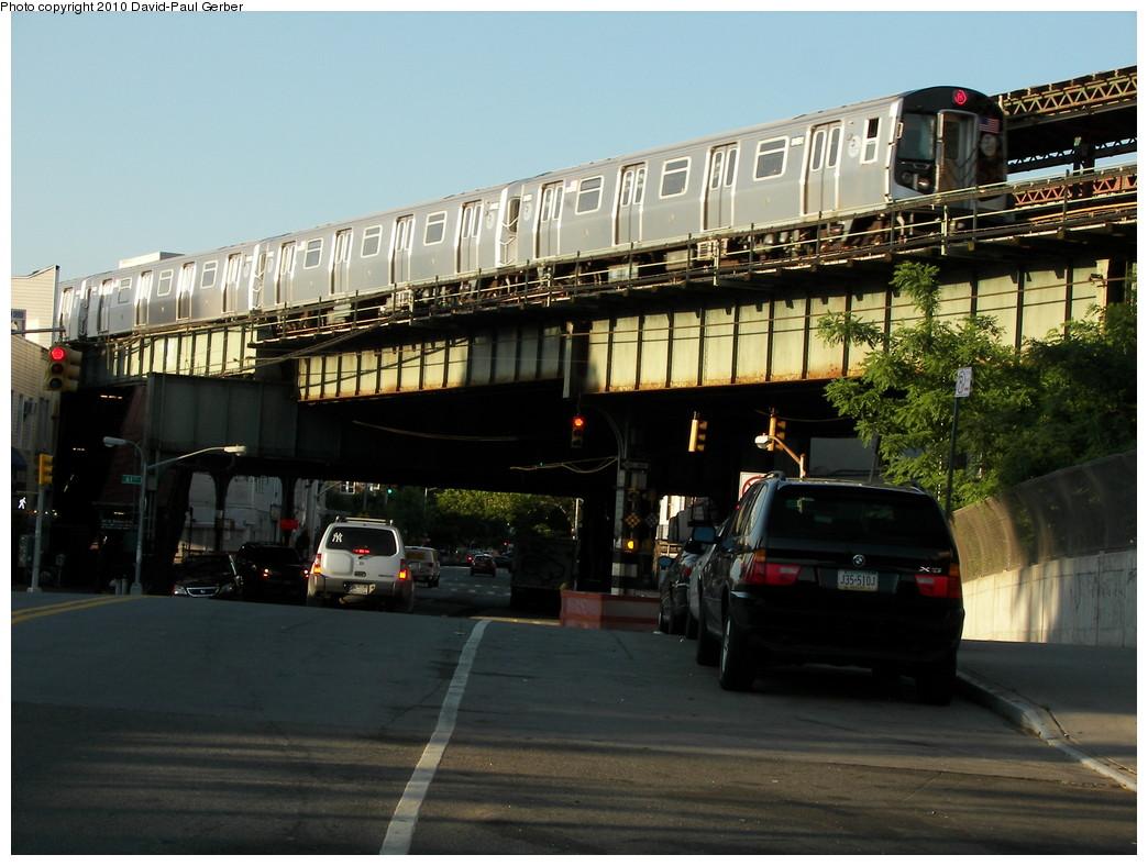 (263k, 1044x788)<br><b>Country:</b> United States<br><b>City:</b> New York<br><b>System:</b> New York City Transit<br><b>Line:</b> BMT West End Line<br><b>Location:</b> 62nd Street<br><b>Route:</b> M<br><b>Car:</b> R-160A-1 (Alstom, 2005-2008, 4 car sets)  <br><b>Photo by:</b> David-Paul Gerber<br><b>Date:</b> 6/11/2010<br><b>Notes:</b> On 14th Ave at 62nd Street<br><b>Viewed (this week/total):</b> 4 / 1802
