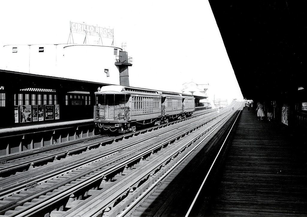 (184k, 1024x724)<br><b>Country:</b> United States<br><b>City:</b> New York<br><b>System:</b> New York City Transit<br><b>Line:</b> BMT Culver Line<br><b>Location:</b> 13th Avenue<br><b>Car:</b> BMT Elevated Gate Car 1378 <br><b>Collection of:</b> George Conrad Collection<br><b>Viewed (this week/total):</b> 2 / 2776