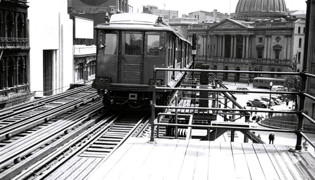 (174k, 1024x587)<br><b>Country:</b> United States<br><b>City:</b> New York<br><b>System:</b> New York City Transit<br><b>Line:</b> BMT Fulton<br><b>Location:</b> Court St./Myrtle Ave<br><b>Car:</b> BMT C  <br><b>Collection of:</b> George Conrad Collection<br><b>Date:</b> 1940<br><b>Viewed (this week/total):</b> 0 / 2226