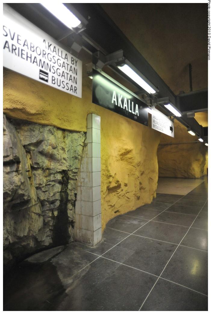 (235k, 701x1044)<br><b>Country:</b> Sweden<br><b>City:</b> Stockholm<br><b>System:</b> Storstockholms Lokaltrafik<br><b>Line:</b> Tunnelbana Blue Line<br><b>Location:</b> Akalla<br><b>Photo by:</b> David Pirmann<br><b>Date:</b> 10/14/2010<br><b>Viewed (this week/total):</b> 0 / 471