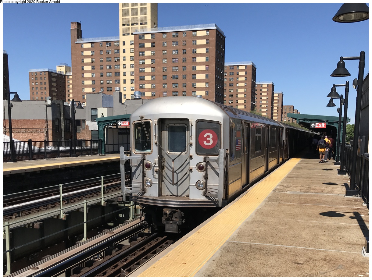 (445k, 1220x919)<br><b>Country:</b> United States<br><b>City:</b> New York<br><b>System:</b> New York City Transit<br><b>Line:</b> IRT Brooklyn Line<br><b>Location:</b> Rockaway Avenue<br><b>Route:</b> 3<br><b>Car:</b> R-62 (Kawasaki, 1983-1985) 1375 <br><b>Photo by:</b> Booker Arnold<br><b>Date:</b> 6/11/2019<br><b>Viewed (this week/total):</b> 1 / 270