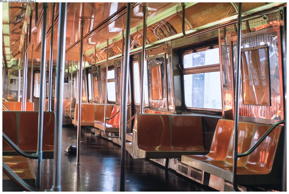 (511k, 1220x820)<br><b>Country:</b> United States<br><b>City:</b> New York<br><b>System:</b> New York City Transit<br><b>Car:</b> R-68 (Westinghouse-Amrail, 1986-1988) 2857 <br><b>Photo by:</b> Mike L.<br><b>Date:</b> 10/25/2014<br><b>Viewed (this week/total):</b> 0 / 344