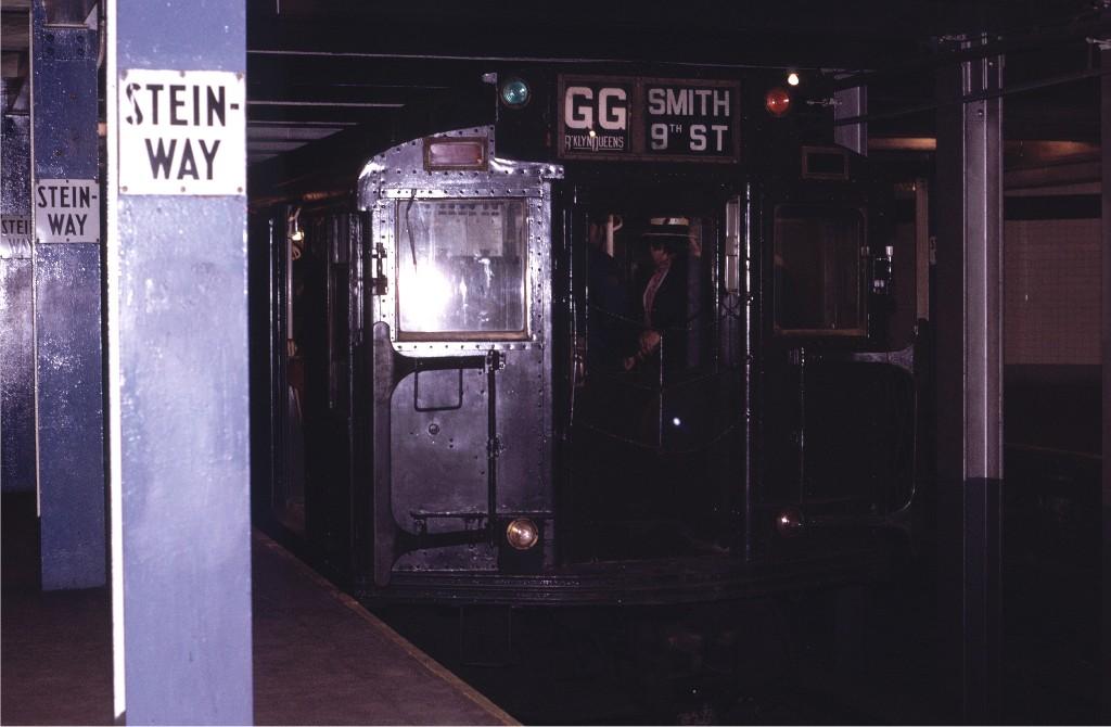 (136k, 1024x670)<br><b>Country:</b> United States<br><b>City:</b> New York<br><b>System:</b> New York City Transit<br><b>Line:</b> IND Queens Boulevard Line<br><b>Location:</b> Steinway Street<br><b>Route:</b> Fan Trip<br><b>Car:</b> R-4 (American Car & Foundry, 1932-1933) 484 <br><b>Photo by:</b> Joe Testagrose<br><b>Date:</b> 5/5/1974<br><b>Viewed (this week/total):</b> 1 / 2269
