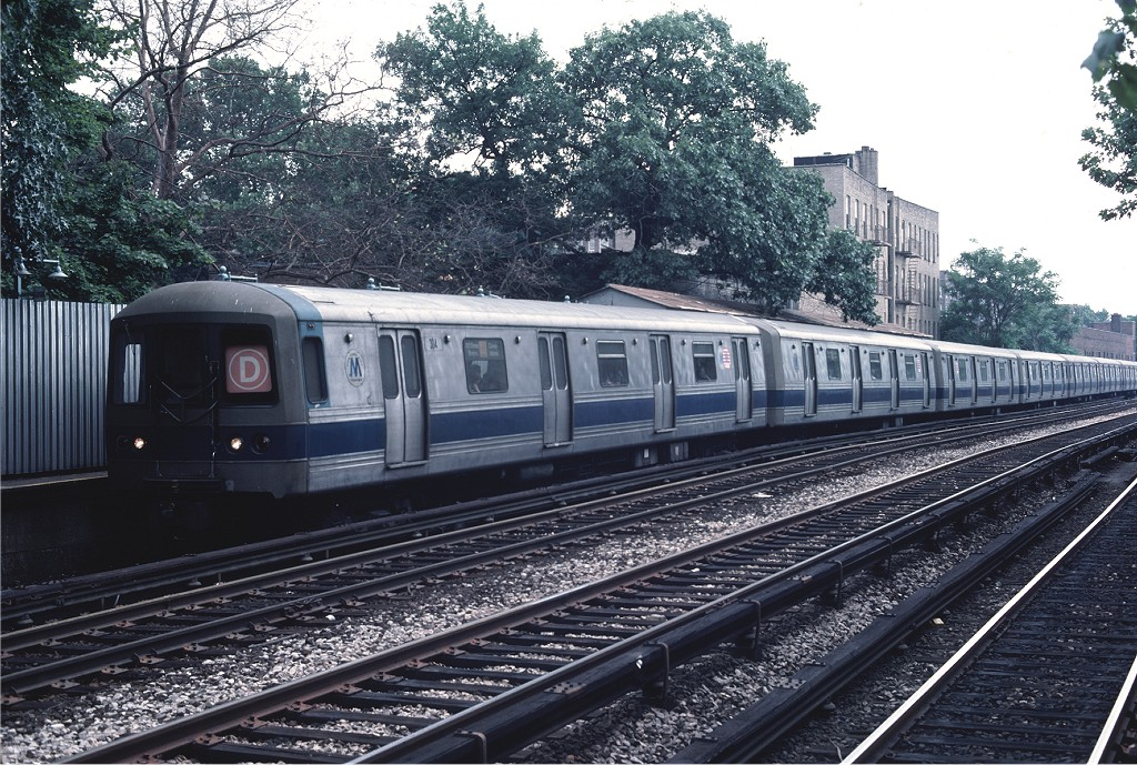 (282k, 1024x689)<br><b>Country:</b> United States<br><b>City:</b> New York<br><b>System:</b> New York City Transit<br><b>Line:</b> BMT Brighton Line<br><b>Location:</b> Avenue H<br><b>Route:</b> D<br><b>Car:</b> R-44 (St. Louis, 1971-73) 304 <br><b>Photo by:</b> Ed McKernan<br><b>Collection of:</b> Joe Testagrose<br><b>Date:</b> 7/4/1976<br><b>Viewed (this week/total):</b> 0 / 2261