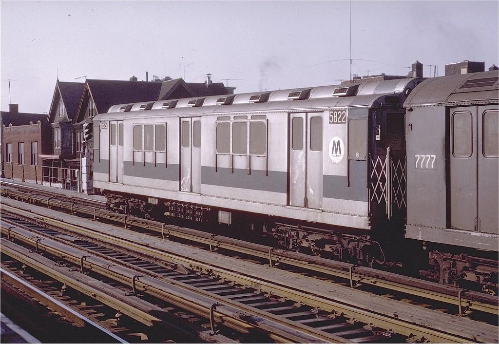 (259k, 1024x706)<br><b>Country:</b> United States<br><b>City:</b> New York<br><b>System:</b> New York City Transit<br><b>Line:</b> IRT White Plains Road Line<br><b>Location:</b> Freeman Street<br><b>Route:</b> 2<br><b>Car:</b> R-14 (American Car & Foundry, 1949) 5822 <br><b>Photo by:</b> Joe Testagrose<br><b>Date:</b> 2/6/1971<br><b>Viewed (this week/total):</b> 0 / 3713
