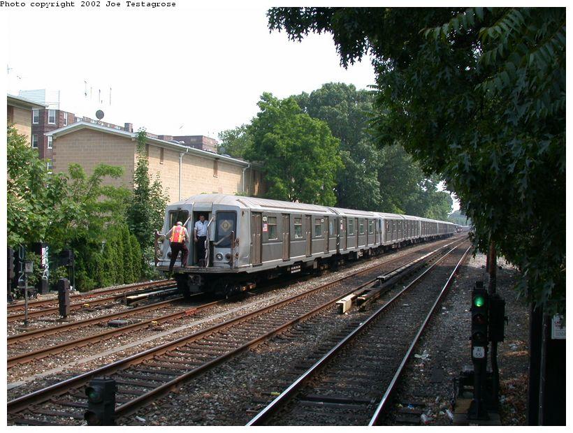 (152k, 820x620)<br><b>Country:</b> United States<br><b>City:</b> New York<br><b>System:</b> New York City Transit<br><b>Line:</b> BMT Brighton Line<br><b>Location:</b> Avenue H<br><b>Route:</b> Q<br><b>Car:</b> R-40 (St. Louis, 1968) 4379 <br><b>Photo by:</b> Joe Testagrose<br><b>Date:</b> 6/11/2002<br><b>Viewed (this week/total):</b> 0 / 3903
