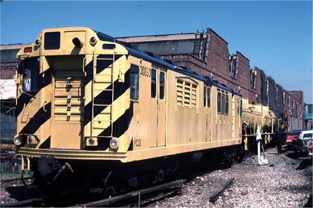 (190k, 1024x681)<br><b>Country:</b> United States<br><b>City:</b> New York<br><b>System:</b> New York City Transit<br><b>Location:</b> Coney Island Yard<br><b>Car:</b> Station Wash Train (R-12 Rebuilds) 30630 (ex-5709)<br><b>Collection of:</b> Joe Testagrose<br><b>Date:</b> 4/18/1970<br><b>Viewed (this week/total):</b> 7 / 10275