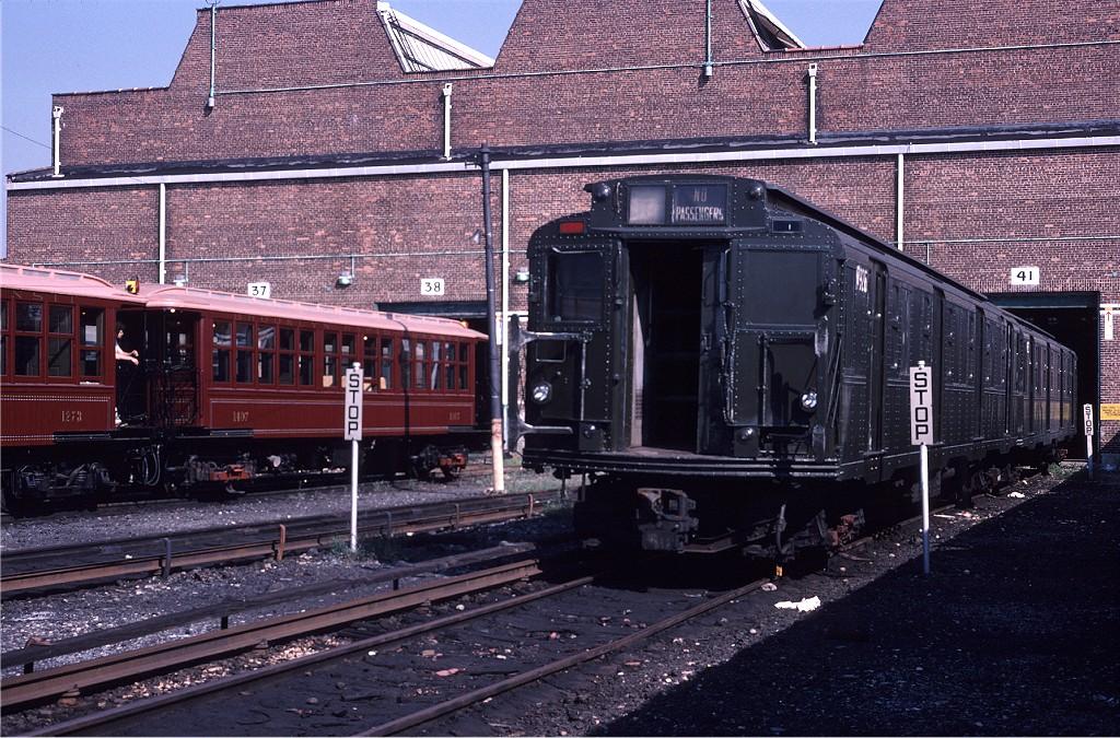 (278k, 1024x675)<br><b>Country:</b> United States<br><b>City:</b> New York<br><b>System:</b> New York City Transit<br><b>Location:</b> Coney Island Yard<br><b>Car:</b> R-6-3 (American Car & Foundry, 1935) 925 (ex-R708)<br><b>Photo by:</b> Steve Zabel<br><b>Collection of:</b> Joe Testagrose<br><b>Date:</b> 8/31/1979<br><b>Viewed (this week/total):</b> 1 / 1106