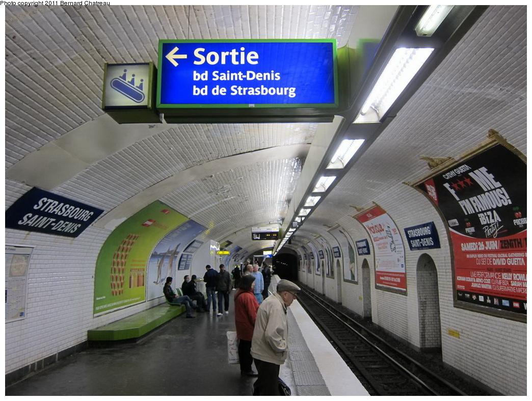 (333k, 1044x787)<br><b>Country:</b> France<br><b>City:</b> Paris<br><b>System:</b> RATP (Régie Autonome des Transports Parisiens)<br><b>Line:</b> Metro Ligne 8<br><b>Location:</b> Strasbourg-Saint-Denis<br><b>Photo by:</b> Bernard Chatreau<br><b>Date:</b> 5/5/2010<br><b>Viewed (this week/total):</b> 1 / 403