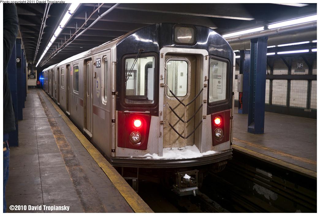 (317k, 1044x703)<br><b>Country:</b> United States<br><b>City:</b> New York<br><b>System:</b> New York City Transit<br><b>Line:</b> IRT Woodlawn Line<br><b>Location:</b> 149th Street-Grand Concourse<br><b>Car:</b> R-142A (Option Order, Kawasaki, 2002-2003) 7675 <br><b>Photo by:</b> David Tropiansky<br><b>Date:</b> 12/26/2010<br><b>Notes:</b> Blizzard of 2010<br><b>Viewed (this week/total):</b> 0 / 2484
