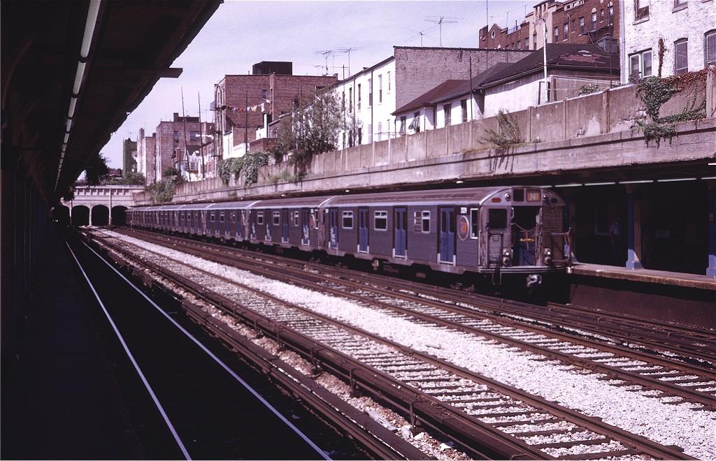 (241k, 1024x660)<br><b>Country:</b> United States<br><b>City:</b> New York<br><b>System:</b> New York City Transit<br><b>Line:</b> BMT Sea Beach Line<br><b>Location:</b> 20th Avenue<br><b>Route:</b> N<br><b>Car:</b> R-32 (Budd, 1964) 3539 <br><b>Photo by:</b> Steve Zabel<br><b>Collection of:</b> Joe Testagrose<br><b>Date:</b> 8/6/1972<br><b>Viewed (this week/total):</b> 1 / 1764