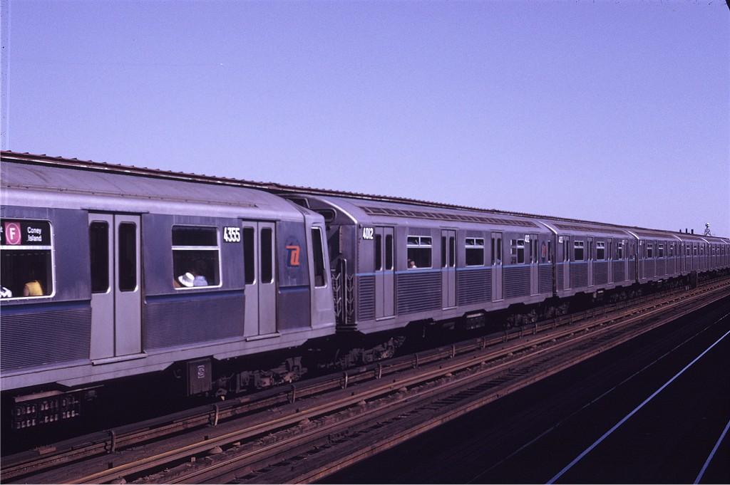 (154k, 1024x681)<br><b>Country:</b> United States<br><b>City:</b> New York<br><b>System:</b> New York City Transit<br><b>Line:</b> BMT Culver Line<br><b>Location:</b> Avenue N<br><b>Route:</b> F<br><b>Car:</b> R-38 (St. Louis, 1966-1967) 4012 <br><b>Photo by:</b> Joe Testagrose<br><b>Date:</b> 6/28/1970<br><b>Viewed (this week/total):</b> 5 / 2295