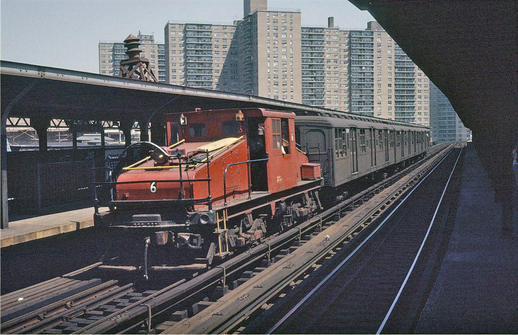 (307k, 1024x663)<br><b>Country:</b> United States<br><b>City:</b> New York<br><b>System:</b> New York City Transit<br><b>Line:</b> BMT Brighton Line<br><b>Location:</b> West 8th Street<br><b>Route:</b> Fan Trip<br><b>Car:</b> SBK Steeplecab 6 <br><b>Photo by:</b> Steve Zabel<br><b>Collection of:</b> Joe Testagrose<br><b>Date:</b> 8/23/1969<br><b>Viewed (this week/total):</b> 3 / 1584