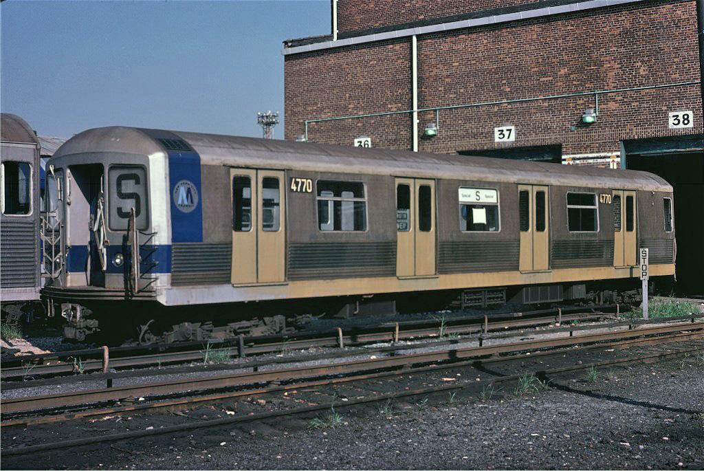 (339k, 1024x685)<br><b>Country:</b> United States<br><b>City:</b> New York<br><b>System:</b> New York City Transit<br><b>Location:</b> Coney Island Yard<br><b>Car:</b> R-42 (St. Louis, 1969-1970) 4770 <br><b>Photo by:</b> Steve Zabel<br><b>Collection of:</b> Joe Testagrose<br><b>Date:</b> 8/31/1979<br><b>Viewed (this week/total):</b> 2 / 2234