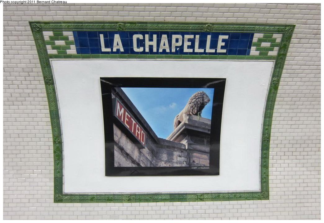 (267k, 1044x720)<br><b>Country:</b> France<br><b>City:</b> Paris<br><b>System:</b> RATP (Régie Autonome des Transports Parisiens)<br><b>Line:</b> Metro Ligne 12<br><b>Location:</b> Porte de la Chapelle<br><b>Photo by:</b> Bernard Chatreau<br><b>Date:</b> 5/5/2010<br><b>Viewed (this week/total):</b> 0 / 333