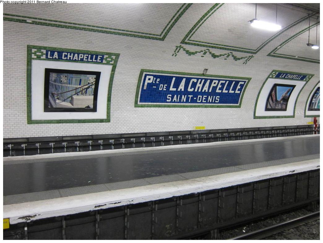 (316k, 1044x788)<br><b>Country:</b> France<br><b>City:</b> Paris<br><b>System:</b> RATP (Régie Autonome des Transports Parisiens)<br><b>Line:</b> Metro Ligne 12<br><b>Location:</b> Porte de la Chapelle<br><b>Photo by:</b> Bernard Chatreau<br><b>Date:</b> 5/5/2010<br><b>Viewed (this week/total):</b> 0 / 324