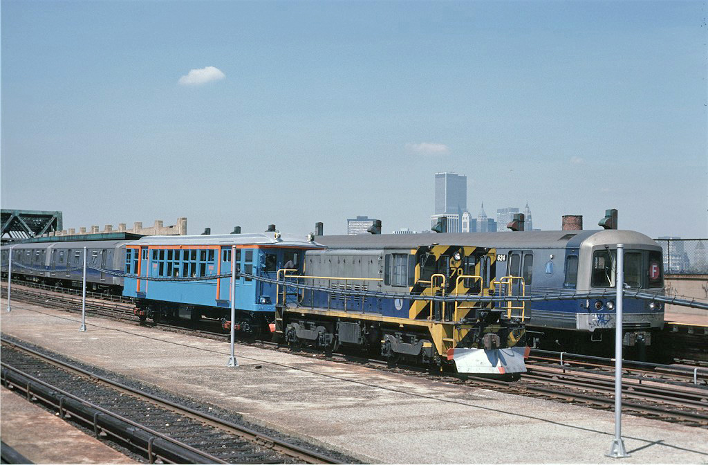 (270k, 1024x672)<br><b>Country:</b> United States<br><b>City:</b> New York<br><b>System:</b> New York City Transit<br><b>Line:</b> IND Crosstown Line<br><b>Location:</b> Smith/9th Street<br><b>Route:</b> Fan Trip<br><b>Car:</b> R-47 Locomotive 70 <br><b>Photo by:</b> Steve Zabel<br><b>Collection of:</b> Joe Testagrose<br><b>Date:</b> 4/18/1978<br><b>Viewed (this week/total):</b> 0 / 1731