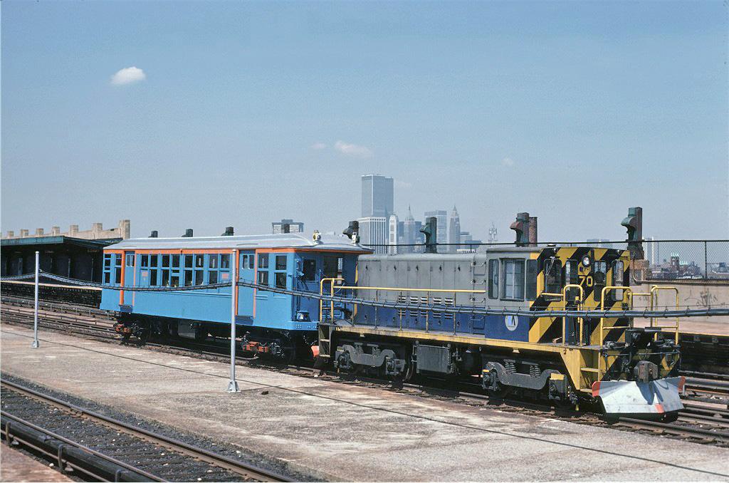 (279k, 1024x678)<br><b>Country:</b> United States<br><b>City:</b> New York<br><b>System:</b> New York City Transit<br><b>Line:</b> IND Crosstown Line<br><b>Location:</b> Smith/9th Street<br><b>Route:</b> Fan Trip<br><b>Car:</b> R-47 Locomotive 70 <br><b>Photo by:</b> Steve Zabel<br><b>Collection of:</b> Joe Testagrose<br><b>Date:</b> 4/18/1978<br><b>Viewed (this week/total):</b> 0 / 1951
