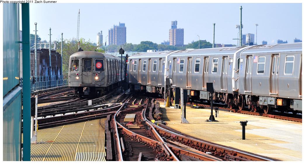 (372k, 1044x563)<br><b>Country:</b> United States<br><b>City:</b> New York<br><b>System:</b> New York City Transit<br><b>Location:</b> Coney Island/Stillwell Avenue<br><b>Route:</b> D Put-in<br><b>Car:</b> R-68 (Westinghouse-Amrail, 1986-1988) 2906 <br><b>Photo by:</b> Zach Summer<br><b>Date:</b> 7/22/2011<br><b>Viewed (this week/total):</b> 4 / 1370