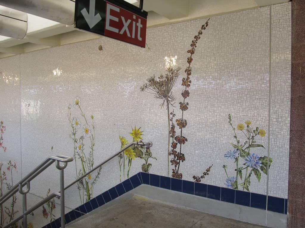 (141k, 1024x768)<br><b>Country:</b> United States<br><b>City:</b> New York<br><b>System:</b> New York City Transit<br><b>Line:</b> BMT Brighton Line<br><b>Location:</b> Avenue U<br><b>Photo by:</b> Robbie Rosenfeld<br><b>Date:</b> 7/12/2011<br><b>Artwork:</b> <i>Brooklyn Seeds</i>, Jason Middlebrook, 2011<br><b>Viewed (this week/total):</b> 5 / 3324