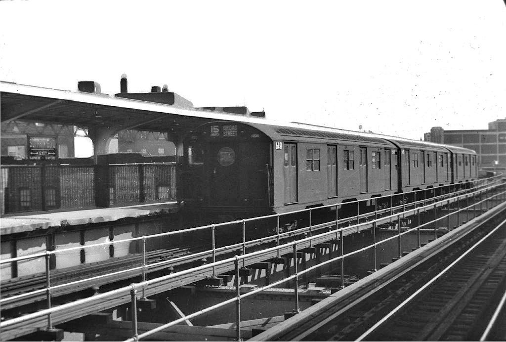 (196k, 1024x692)<br><b>Country:</b> United States<br><b>City:</b> New York<br><b>System:</b> New York City Transit<br><b>Line:</b> BMT Nassau Street-Jamaica Line<br><b>Location:</b> Sutphin Boulevard (Demolished)<br><b>Route:</b> BMT 15<br><b>Car:</b> R-16 (American Car & Foundry, 1955) 6491 <br><b>Collection of:</b> Joe Testagrose<br><b>Viewed (this week/total):</b> 1 / 2137