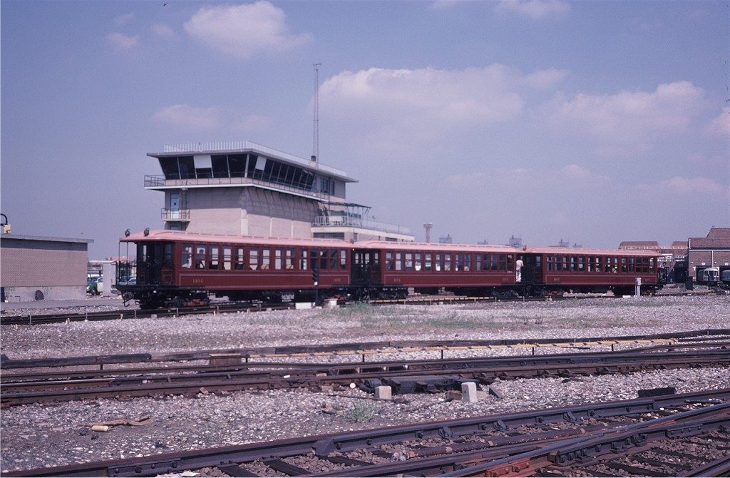 (186k, 1024x670)<br><b>Country:</b> United States<br><b>City:</b> New York<br><b>System:</b> New York City Transit<br><b>Location:</b> Coney Island Yard<br><b>Car:</b> BMT Elevated Gate Car 1404-1273-1407 <br><b>Photo by:</b> Steve Zabel<br><b>Collection of:</b> Joe Testagrose<br><b>Date:</b> 8/31/1979<br><b>Viewed (this week/total):</b> 2 / 941