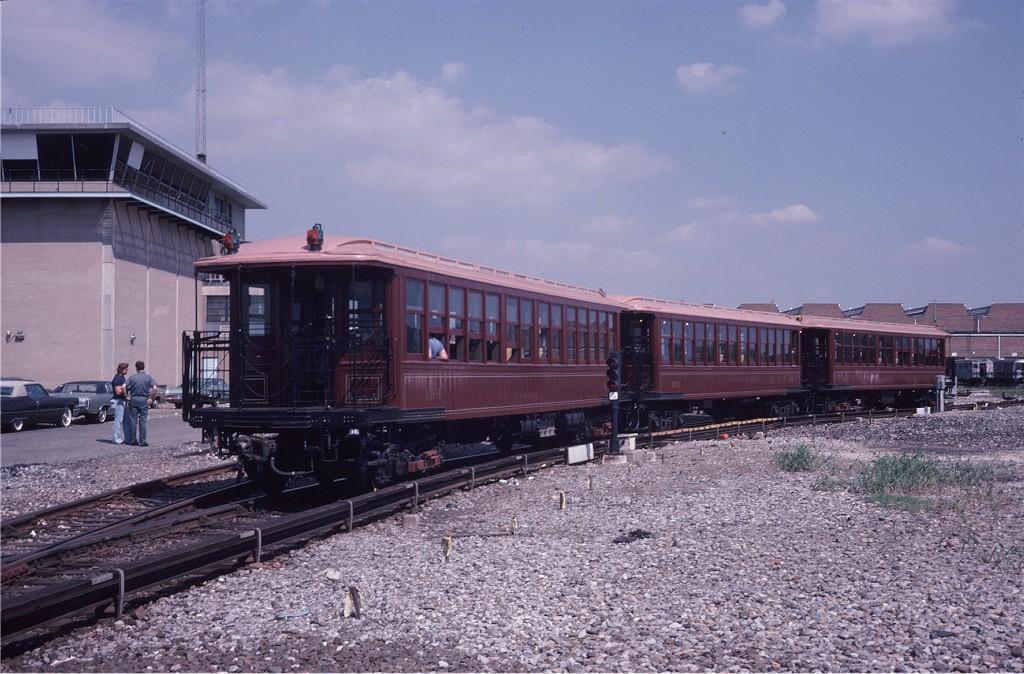 (209k, 1024x674)<br><b>Country:</b> United States<br><b>City:</b> New York<br><b>System:</b> New York City Transit<br><b>Location:</b> Coney Island Yard<br><b>Car:</b> BMT Elevated Gate Car 1404-1273-1407 <br><b>Photo by:</b> Steve Zabel<br><b>Collection of:</b> Joe Testagrose<br><b>Date:</b> 8/31/1979<br><b>Viewed (this week/total):</b> 0 / 857