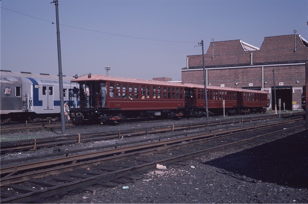 (201k, 1024x677)<br><b>Country:</b> United States<br><b>City:</b> New York<br><b>System:</b> New York City Transit<br><b>Location:</b> Coney Island Yard<br><b>Car:</b> BMT Elevated Gate Car 1404-1273-1407 <br><b>Photo by:</b> Steve Zabel<br><b>Collection of:</b> Joe Testagrose<br><b>Date:</b> 8/31/1979<br><b>Viewed (this week/total):</b> 0 / 822