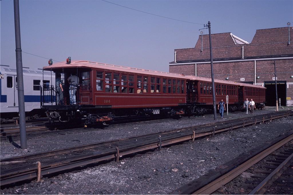 (213k, 1024x683)<br><b>Country:</b> United States<br><b>City:</b> New York<br><b>System:</b> New York City Transit<br><b>Location:</b> Coney Island Yard<br><b>Car:</b> BMT Elevated Gate Car 1404-1273-1407 <br><b>Photo by:</b> Steve Zabel<br><b>Collection of:</b> Joe Testagrose<br><b>Date:</b> 8/31/1979<br><b>Viewed (this week/total):</b> 0 / 699