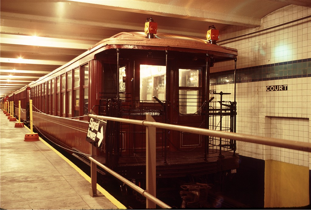 (199k, 1024x693)<br><b>Country:</b> United States<br><b>City:</b> New York<br><b>System:</b> New York City Transit<br><b>Location:</b> New York Transit Museum<br><b>Car:</b> BMT Elevated Gate Car 1404 <br><b>Photo by:</b> Doug Grotjahn<br><b>Collection of:</b> Joe Testagrose<br><b>Date:</b> 9/14/1979<br><b>Viewed (this week/total):</b> 0 / 1888