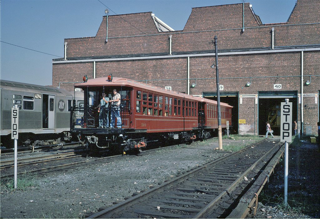 (396k, 1024x699)<br><b>Country:</b> United States<br><b>City:</b> New York<br><b>System:</b> New York City Transit<br><b>Location:</b> Coney Island Yard<br><b>Car:</b> BMT Elevated Gate Car 1404 <br><b>Photo by:</b> Steve Zabel<br><b>Collection of:</b> Joe Testagrose<br><b>Date:</b> 8/31/1979<br><b>Viewed (this week/total):</b> 0 / 1217