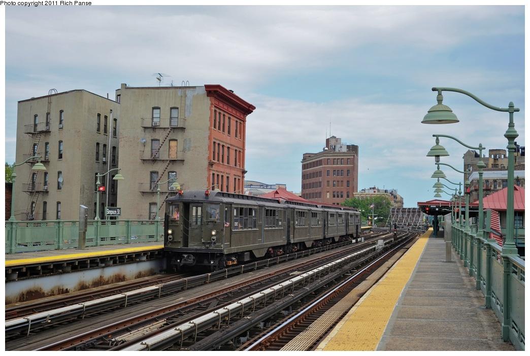 (267k, 1044x703)<br><b>Country:</b> United States<br><b>City:</b> New York<br><b>System:</b> New York City Transit<br><b>Line:</b> IRT White Plains Road Line<br><b>Location:</b> Simpson Street<br><b>Route:</b> Fan Trip<br><b>Car:</b> Low-V (Museum Train) 5292 <br><b>Photo by:</b> Richard Panse<br><b>Date:</b> 9/11/2011<br><b>Notes:</b> <I>Boardwalk Empire</i> promotional service.<br><b>Viewed (this week/total):</b> 0 / 1590