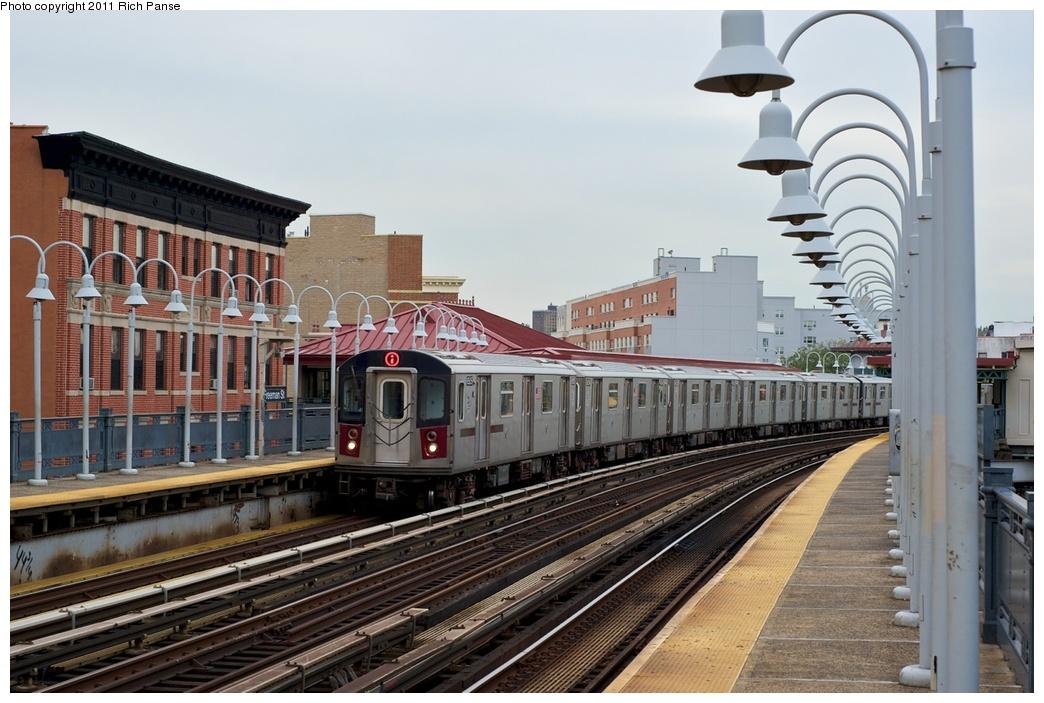 (269k, 1044x703)<br><b>Country:</b> United States<br><b>City:</b> New York<br><b>System:</b> New York City Transit<br><b>Line:</b> IRT White Plains Road Line<br><b>Location:</b> Freeman Street<br><b>Route:</b> 2<br><b>Car:</b> R-142 (Primary Order, Bombardier, 1999-2002) 6505 <br><b>Photo by:</b> Richard Panse<br><b>Date:</b> 9/25/2011<br><b>Viewed (this week/total):</b> 1 / 1918