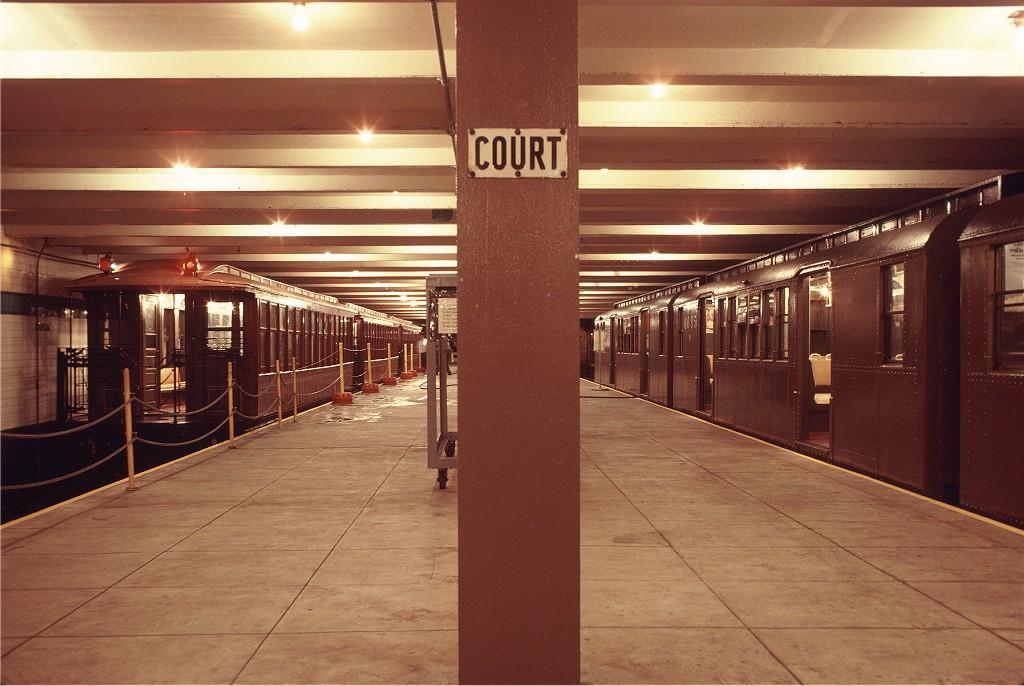 (183k, 1024x686)<br><b>Country:</b> United States<br><b>City:</b> New York<br><b>System:</b> New York City Transit<br><b>Location:</b> New York Transit Museum<br><b>Car:</b> BMT Elevated Gate Car 1407 <br><b>Photo by:</b> Doug Grotjahn<br><b>Collection of:</b> Joe Testagrose<br><b>Date:</b> 9/14/1979<br><b>Viewed (this week/total):</b> 0 / 1610