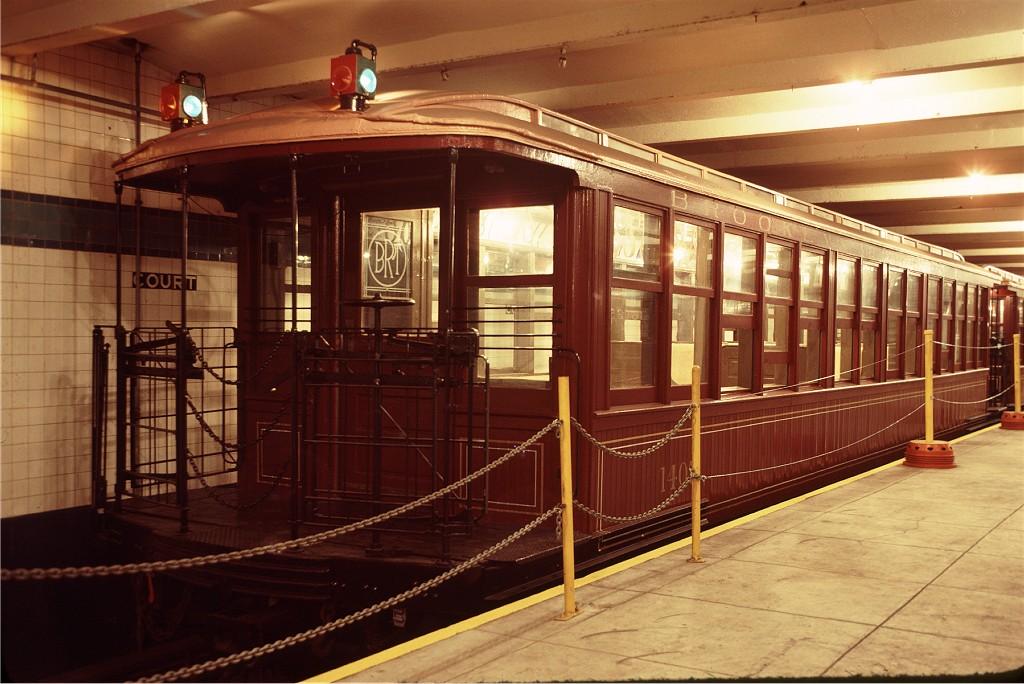 (193k, 1024x684)<br><b>Country:</b> United States<br><b>City:</b> New York<br><b>System:</b> New York City Transit<br><b>Location:</b> New York Transit Museum<br><b>Car:</b> BMT Elevated Gate Car 1407 <br><b>Photo by:</b> Doug Grotjahn<br><b>Collection of:</b> Joe Testagrose<br><b>Date:</b> 9/14/1979<br><b>Viewed (this week/total):</b> 0 / 1340