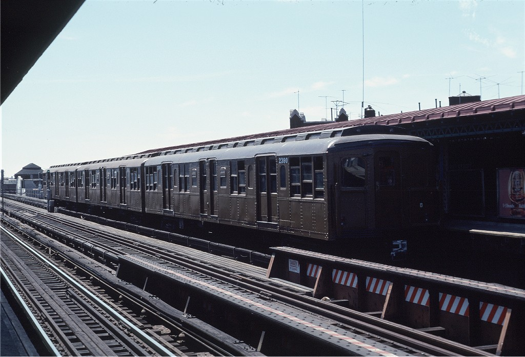 (195k, 1024x696)<br><b>Country:</b> United States<br><b>City:</b> New York<br><b>System:</b> New York City Transit<br><b>Line:</b> BMT West End Line<br><b>Location:</b> 50th Street<br><b>Route:</b> Fan Trip<br><b>Car:</b> BMT A/B-Type Standard 2390 <br><b>Photo by:</b> Joe Testagrose<br><b>Date:</b> 4/16/1977<br><b>Viewed (this week/total):</b> 2 / 1064